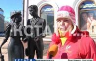 Памятники в центре города подверглись нападению неизвестных вандалов