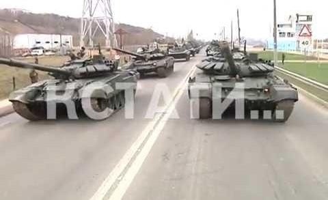 Первая масштабная репетиция парада Победы прошла в Нижнем Новгороде