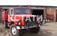 Первые учения по борьбе с лесными пожарами состоялись в Борском районе
