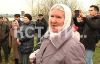 С противотанковыми ежами на защиту от депутата встали жители деревни Новой