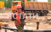 «Мелкие» проблемы ради крупной цели — из-за прокладки канализационного коллектора обмелело озеро