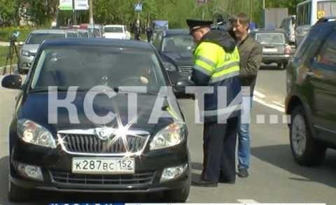 Пьяных водителей сегодня ловили нижегородские автоинспекторы