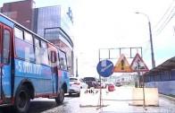 Разлом асфальта на Большой Покровке спровоцировал пробки в центре города