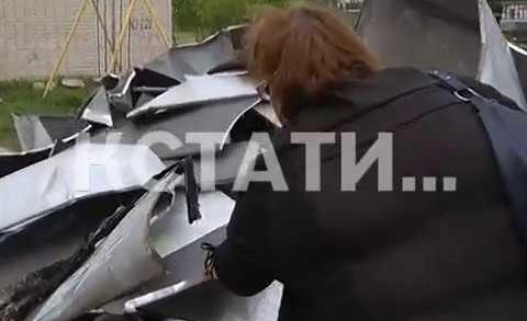 Сорванные крыши, поваленные деревья и разрушенные беседки — ураган пронесся по Чкаловску