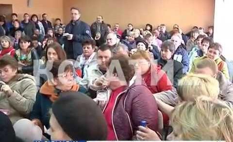 Жителей Починок, которых Газпром выселяет на улицу, спасают депутаты Госдумы