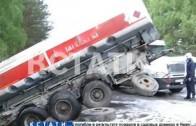 Авария в Заволжье — водитель «лады» вывел свой автомобиль на встречную полосу