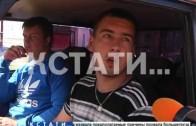 Перепугал пешеходов, коров, и протаранил машину полиции — погоня в Лысковском районе