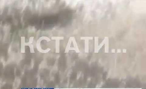 Снежный июнь — град обрушился на Кстовский район