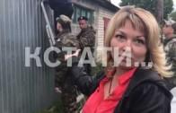 Вооруженный ОМОН при поддержке кинологов с ружьями — операция по включению газа