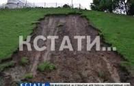 Частные дома в Сормове стали жертвой июльского паводка