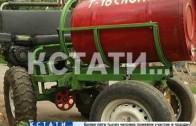 Легендарный советский трактор Т-16 возродили нижегородские умельцы.