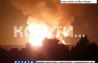 Пламя до неба, и выжженные километры земли — взрыв газопровода в Сергачском районе