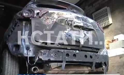 При переделе земли в Автозаводском районе люди были избиты а автомобили сожжены