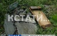 Вандализм со школьной скамьи — 46 могил на Лысковском кладбище оказались разрушенными руками детей