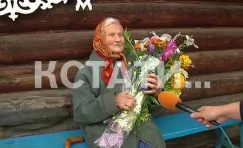 100 лет в огороде — самая активная жительница долгожительница отмечает юбилей