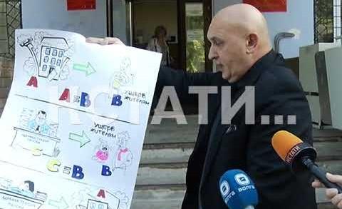 Со стенгазетой и в похоронном костюме защита нижегородского градоначальника появилась в суде