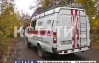 Большегруз пошел на таран газопровода в Автозаводском районе