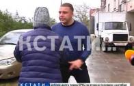 Директор торговой точки с подпольным алкоголем набросилась на полицейских