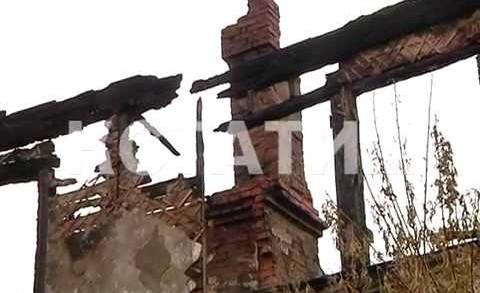 Двухэтажный дом сгорел в Кстовском районе, без жилья остались десятки человек