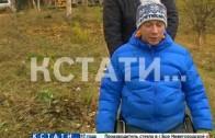 Инвалид-колясочник, не дождавшись помощи администрации, благоустроил собственный район