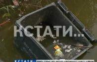 Утки, крысы и мусорные баки — река Левинка превратилась в отхожее место