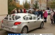 Жители улицы Керченской перекрыли дорогу, чтобы защитить детей