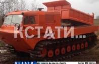Грузовой снегоболотоход создали Нижегородские промышленники