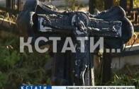 Могилы ветеранов войны разгромили вандалы на кладбище