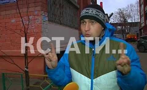 Подростковый вандализм в Сормовском районе
