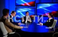 Заключительная часть большого интервью, которое Глеб Никитин дал нижегородским телекомпаниям