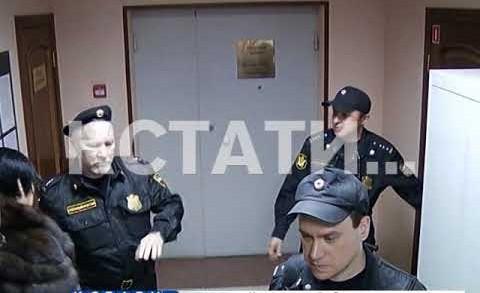 Александр Бочкарев снова доставлен в суд для избрания меры пресечения
