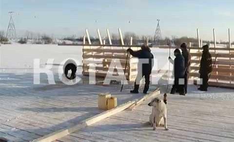 Из-за слишком тонкого льда, усиленное внимание на Крещение уделят безопасности