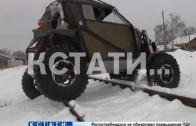 Нижегородские конструкторы создали сверхпроходимый автомобиль
