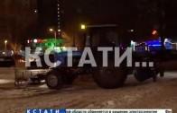 Новый мэр Нижнего Новгорода объезжал ночью районы города
