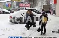 Снежный Нижний — первая зимняя проверка коммунальных служб