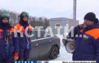Сотрудники нижегородского МЧС провели сегодня учения.