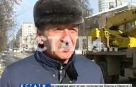Аварийное похолодание в центре Нижнего Новгорода