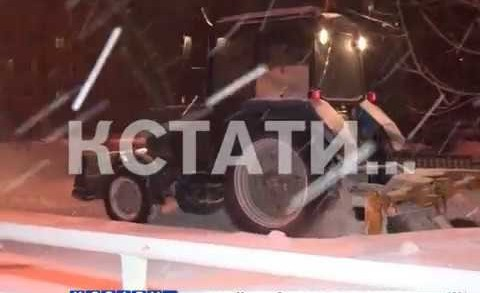 Мэр города устроил ночной разнос чиновникам за неубранные дороги