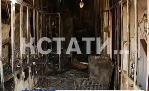 Мытный рынок и прилегающие магазины закрыты из-за пожара