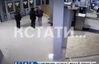 Преступник с ножом попытался напасть на полицейских на Московском вокзале