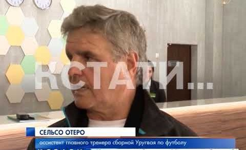 Руководство Уругвайской сборной по футболу познакомилось со своей российской базой