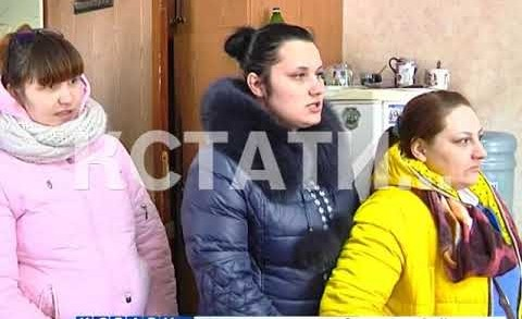 Рушащийся многоквартирный дом в Дзержинске коммунальные службы решили спасти пенопластом