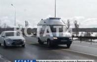 Ремонт моста спровоцировал многочасовые пробки на Казанской трассе.