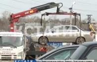 Водитель, силой забрал машину со штрафстоянки и покалечил эвакуаторщика