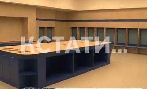 Завершающий этап работ по благоустройству на стадионе «Нижний Новгород»