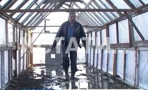 Зона, объятая паводком, в Нижегородской области стала шире