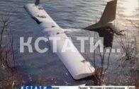 Частный самолет врезался в линию электропередач и рухнул в воду