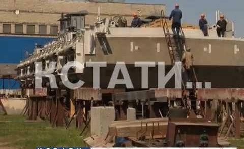 Нижегородские суда будут помогать развивать территорию российского севера
