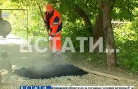 Нижегородский водоканал завершает работы по благоустройству территорий