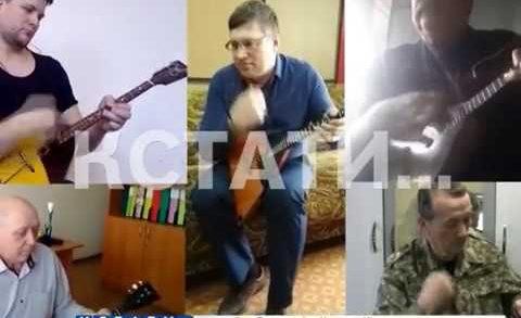 Онлайн ансамбль балалаек, созданный в Арзамасе объединил жителей всей России
